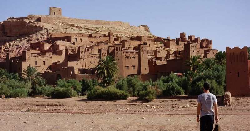 Ait Ben Haddou Morocco with Eric Hennessey Cover