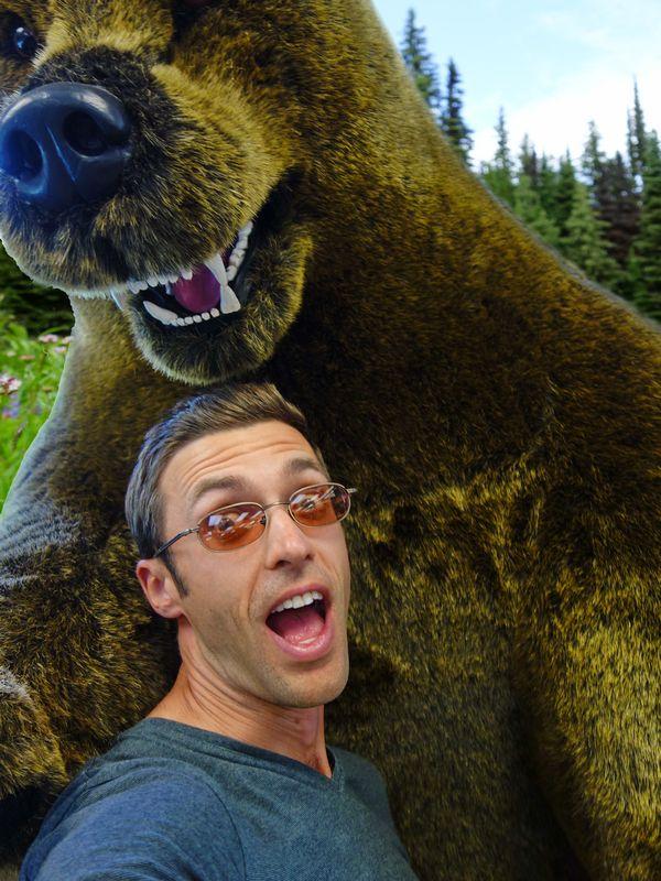 Banff Jasper Scare Bear