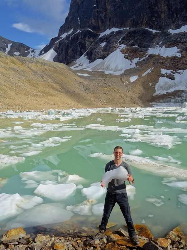 Cavell Pond Glacial Ice Eric