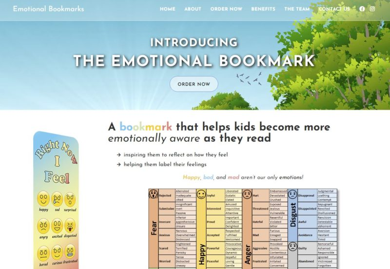 EmotionalBookmarksWebsite