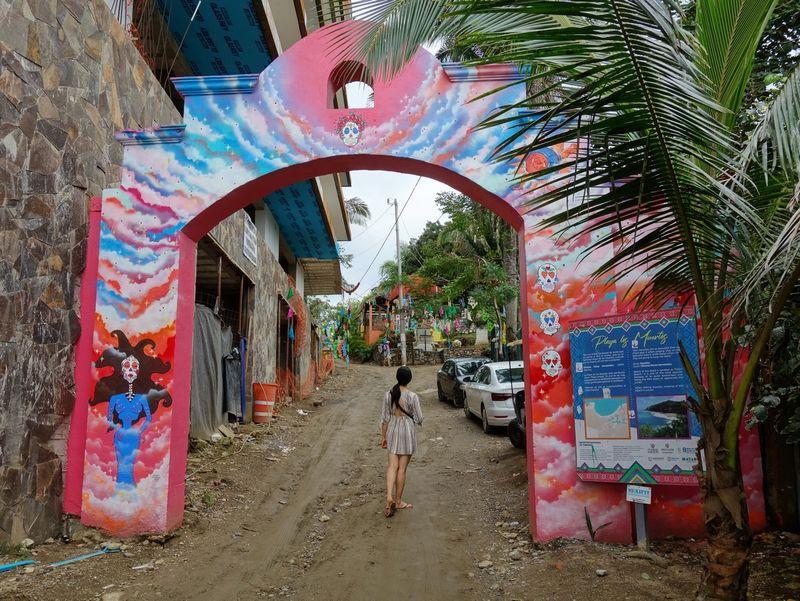 Gateway to Playa los Muertos Sayulita