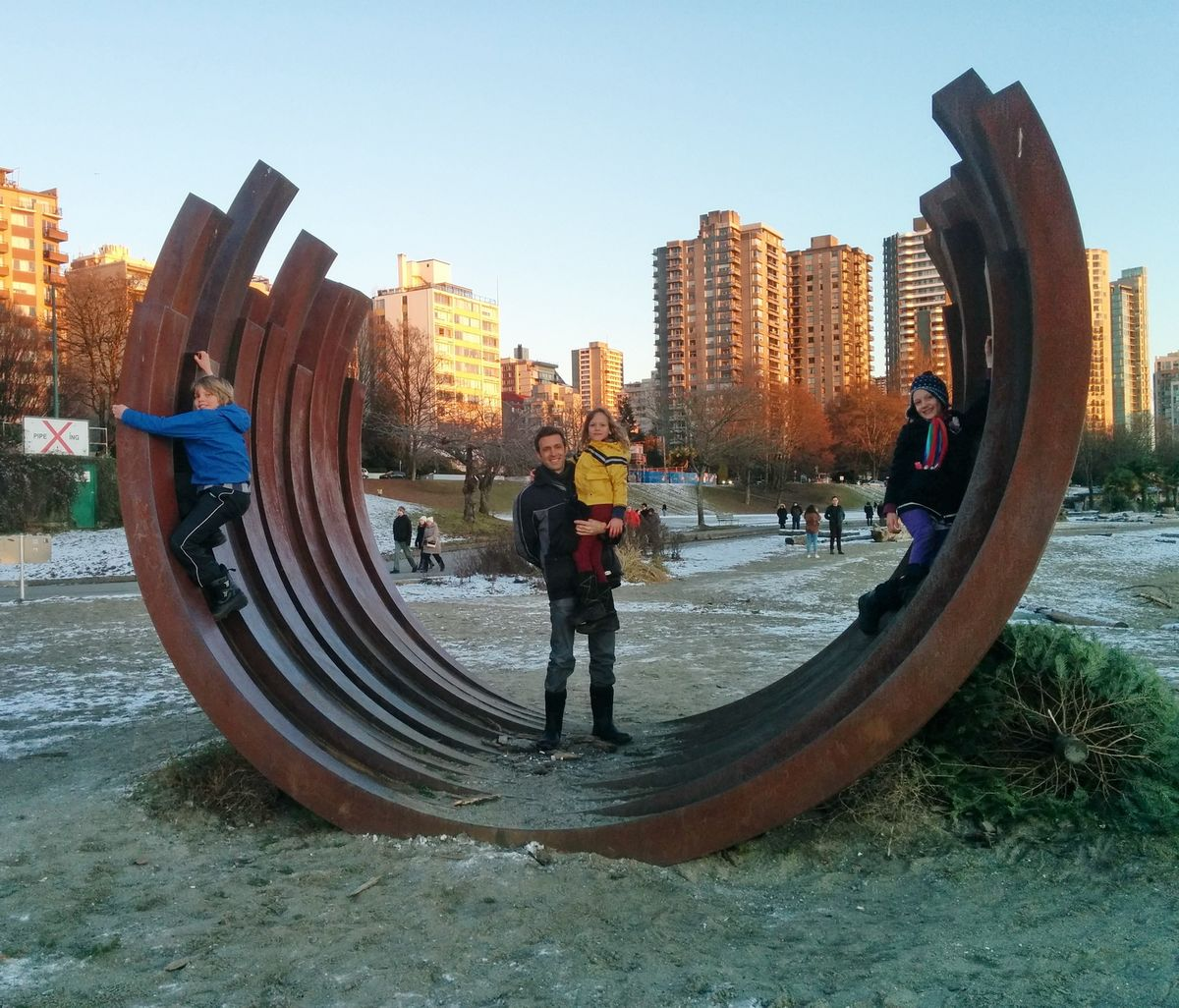 Hennessey Family Vancouver Sculpture
