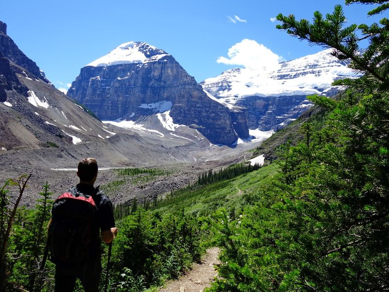 Lake Louise Plain of 6 Glaciers Hike
