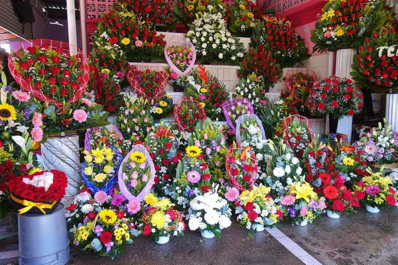 Mazatlan Flower Market