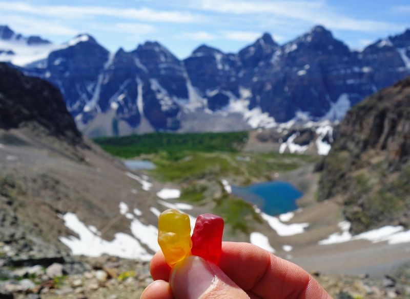 Moraine Lake Sentinel Pass Gummies
