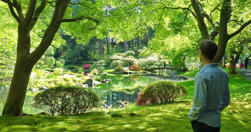 Nitobe Gardens UBC Canada with Eric Cover