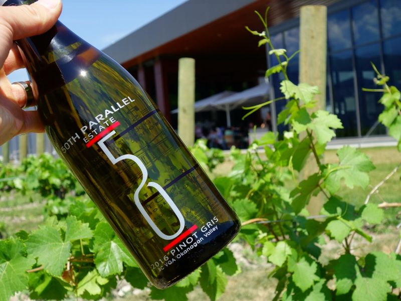 Okanagan 50th Parallel Estate Vineyard Winery