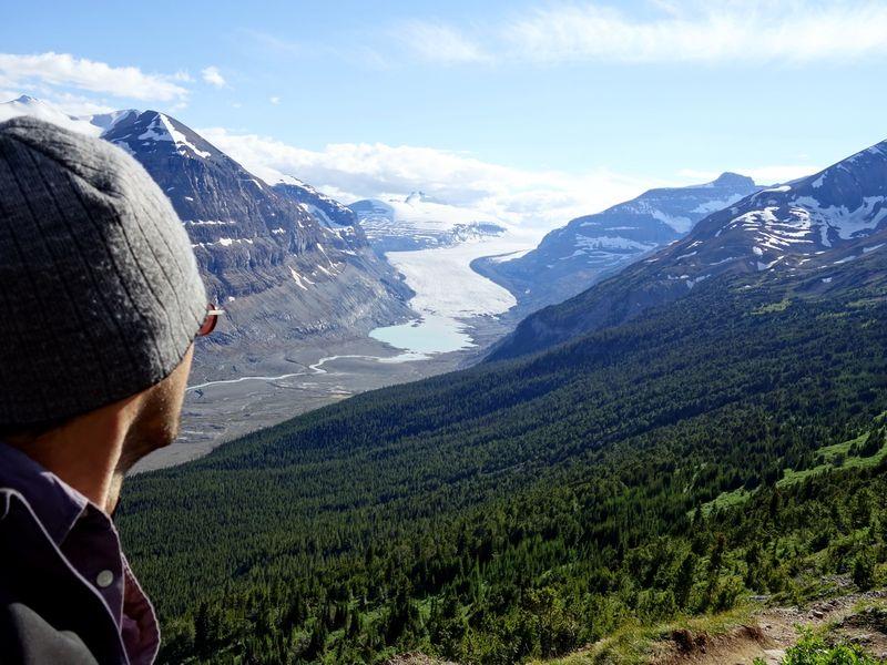 Parker Ridge Trail Saskatchewan Glacier