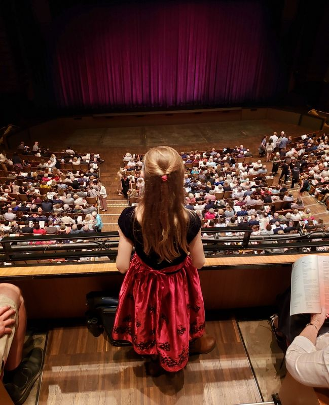 Queen Elizabeth Theatre Girl