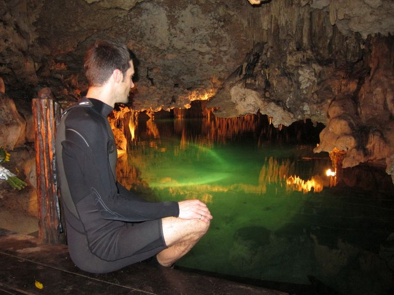 Riviera Maya Mexico Cenote with Eric Hennessey